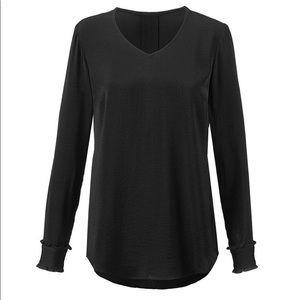 cabi NEW black classic blouse sz Medium
